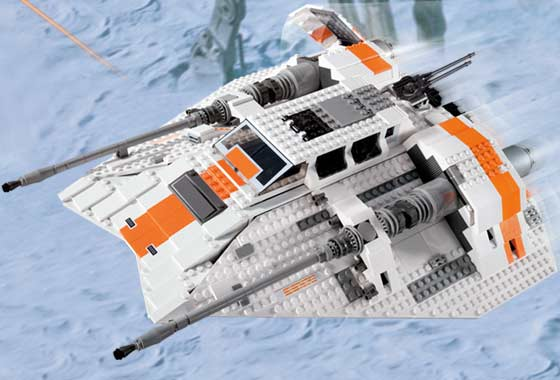 Lego Star Wars Rebel  Snowspeeder-UCS 10129 INSTRUCTION only  vente de renommée mondiale en ligne