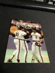 50 different 1980-1989 Pittsburgh Pirates Baseball Cards