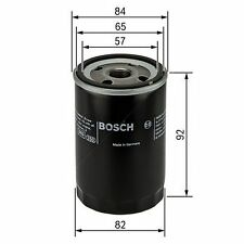 BOSCH Oil Filter 0986452015 - Single