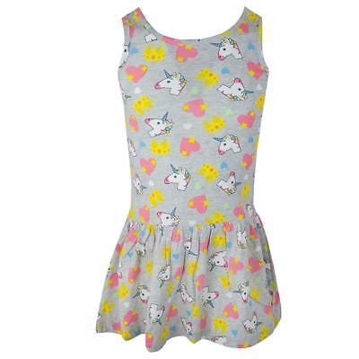 Girls Dress Sun Shimmer and Shine Genie Sleeveless Rara Skirt Kids 2 to 7 Years