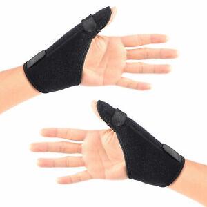 Pouce-Poignet-Main-Attelle-Support-Orthese-arthrite-de-Sport-basketball-entorse