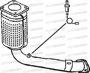 Citroen Saxo 1.6 Vtr Nfz Nft Hatchback 01-04 Exhaust Catalytic Converter