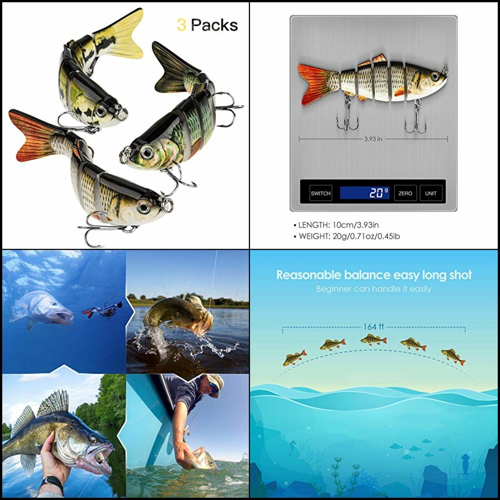 9 Set 9 Size Fishhooks for Swivel Fishing String Hook Fish Skin Fishy Smell B1B4