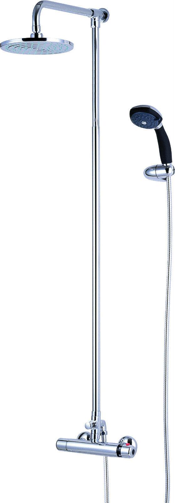 Dusche Thermostat mit Handbrause und Duschkopf. Thermostat Duscharmatur (SH052)   Schönes Aussehen    Leicht zu reinigende Oberfläche    Spielzeugwelt, spielen Sie Ihre eigene Welt    Spielen Sie Leidenschaft, spielen Sie die Ernte, spielen Sie die Wel