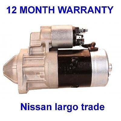 FITS NISSAN CABSTAR//E F22//F23 2.3//2.5//2.7 DIESEL 1986-2006 NEW STARTER MOTOR