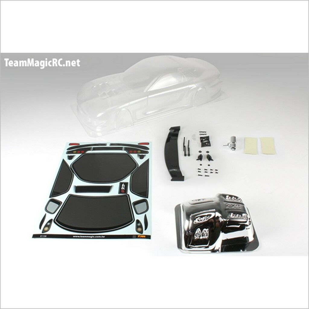 TeamMagic K Factory RX7 Touring Car Body (Clear,195mm) #K1012 (RC-WillPower)
