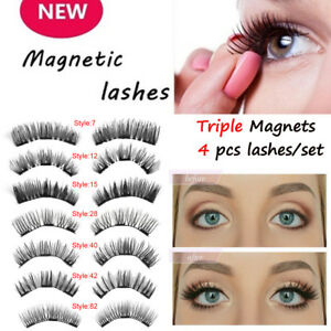 2-Pares-pestanas-postizas-magneticas-Cobertura-Extension-sin-adhesivo-Maquillaje
