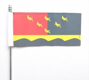 """Sussex County Small Hand Waving Flag 6/"""" x 4/"""""""