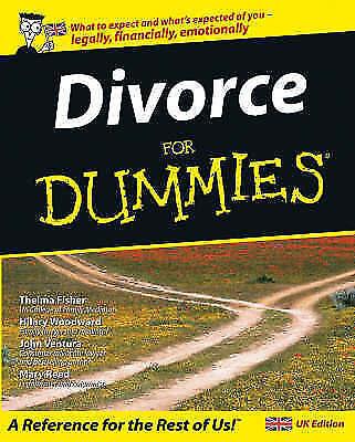 1 of 1 - Divorce For Dummies (UK Edition), Hilary Woodward, John Ventura, Mary Reed, Thel
