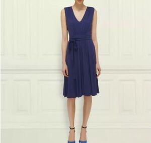 Immacolato Bennett Tie Dress Size Wrap Lk Ocala Navy Stunning 12 x6qgzI
