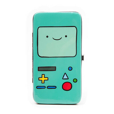 Adventure Time - Bmo - Gaming Device Hinge Purse - Turquoise