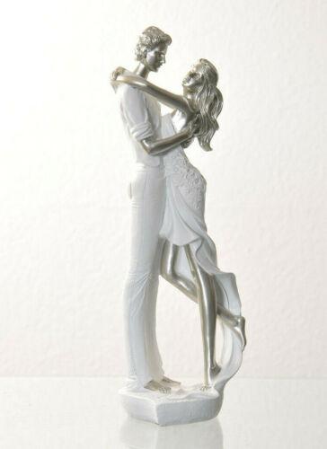 Skulptur Brautpaar Liebespaar Hochtzeit Figur Verlobung Valentinstag Liebe Paar