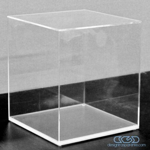 Teca 45X15 H variabile Vetrina in plexiglass trasparente per Modellismo e Lego