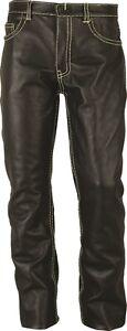 Slim-fit-Leather-Pants-black-Rohren-Lederhose-schwarz-Pantalon-en-Cuir-Noir