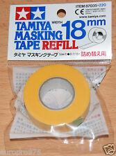 Tamiya 87035 Masking Tape Refill 18mm Width, 18m Length, for RC Body Shells NIP