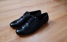 Rachel Comey Novak oxford flat shoes black leather size 7