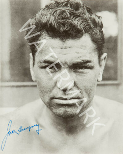 JACK DEMPSEY SIGNED 10X8 PHOTO GREAT B/&W IMAGE LOOKS AWESOME FRAMED