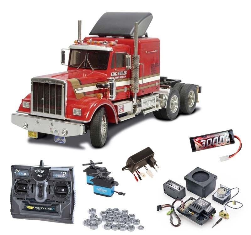 Tamiya Truck King hauler kit completo incl. mfc-01, rodamientos de bolas - 56301mfc