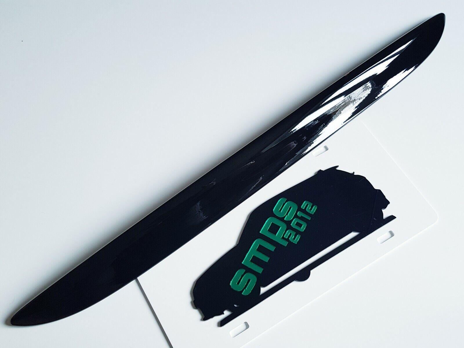 Mini Original 1 R50 R53 Kofferraum Griff Abdeckung Glanz Schwarz De-Chrome