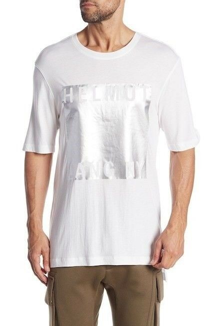 Helmut Lang Film Box Fit Noble Tee - OPTIC Weiß - XL - BRAND NEW