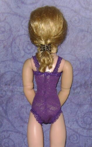 NEW Ready2Wear Shades of Purple Teddy Lingerie Outfit fit Modern /& Vintage Cissy