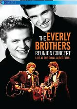 THE EVERLY BROTHERS - REUNION CONCERT-LIVE AT THE ROYAL ALBERT HALL  DVD NEU