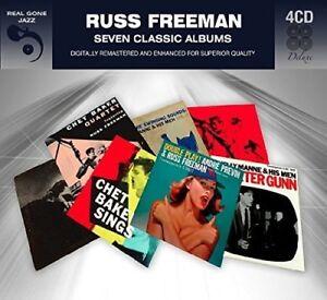 Russ-Freeman-7-Classic-Albums-New-CD-Germany-Import