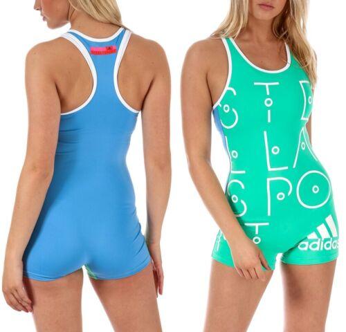 Adidas Stella McCartney Damen Sport Jumpsuit Body Trainingsanzug Fitness Overall