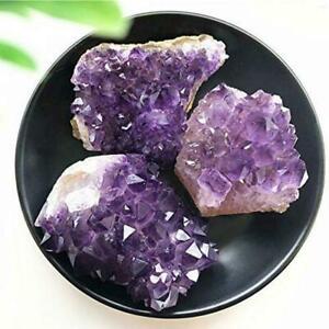 1pc naturale Ametista GEODE cristallo quarzo ametista specimen cluster Miner m5w8
