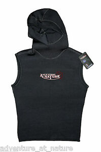 Adventure-At-Nature-Hooded-Wetsuit-Vest-3mm-Neoprene-For-Scuba-Diving-Size-XXL