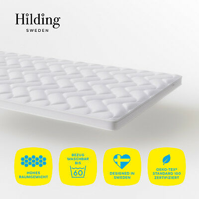 Hilding Sweden Natur Latex Topper 100x200 Komfort Matratzenauflage H2-H3 ÖkoTex
