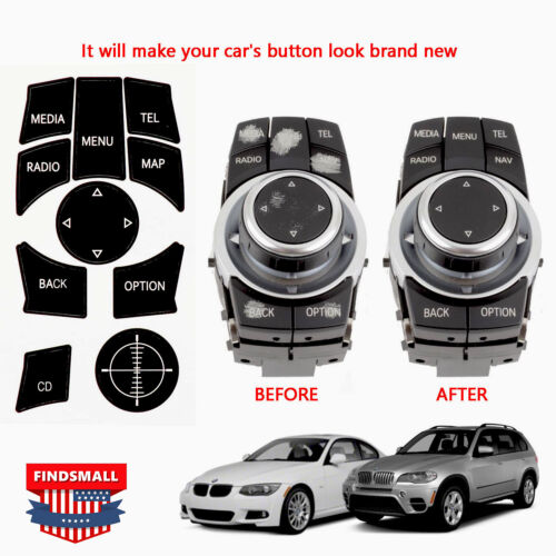 IDrive Repair Kit Replacement Stickers For Select BMW Vehicles New