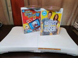 Nintendo Wii Balance Board With 2-Games Bundle!