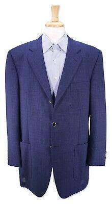 Men's Clothing Suits & Suit Separates Sartoria Correale Por Isaia Azul Marino Lana Bolsillo Parche Americana Chaqueta