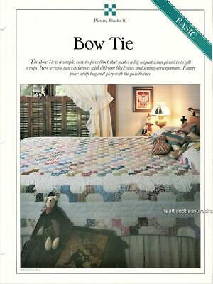 Bow Tie quilt Plastic Templates