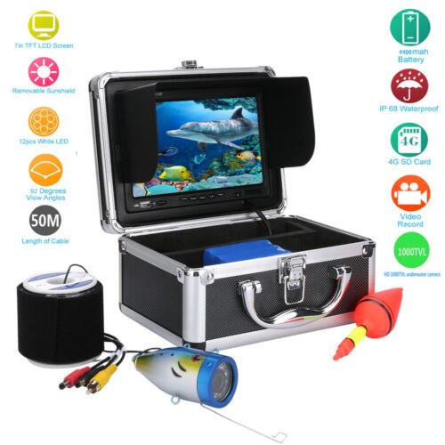 50M HD 7 LCD 1000TVL DVR Fish Finder  Underwater Video Camera Fishing Equipment