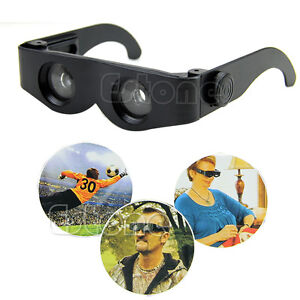 Magnifier Binoculars Portable Glasses Style Telescope For Fishing Hiking Concert
