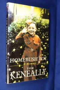 HOMEBUSH BOY Thomas Keneally BOOK Australian Author Bio MedPb Book