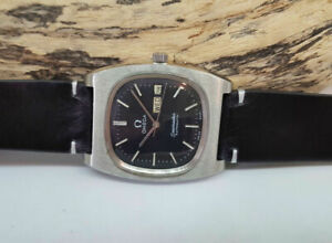 USATO-1979-OMEGA-SEAMASTER-Quadrante-Nero-DayDate-AUTOMATICO-1020-Man-039-s-Watch