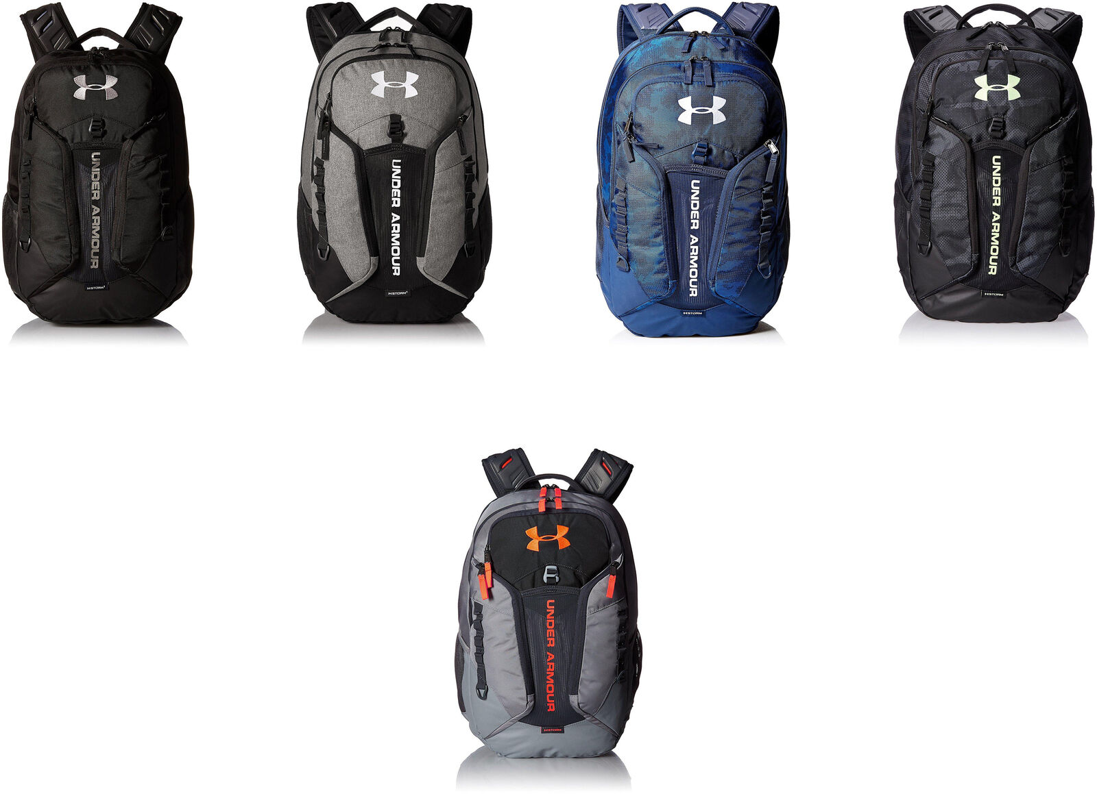 buy popular 523c3 0ed37 Details about Under Armour Storm Contender Backpack, 5 Colors