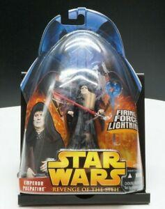 Hasbro Star Wars Revenge Of The Sith Emperor Palpatine Firing Force Lightning 76930852859 Ebay