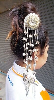Handmade Traditional Thai Dance Wedding Headdress Costume Hair Pins Stick Dancer