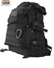 BLACK SPEC OPS PACK 45 LITRE BAG RUCKSACK MOLLE  Military backpack Army