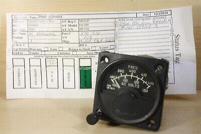 4069 Beechcraft King Air Propeller Amp Indicator 101-389022-3 562-979
