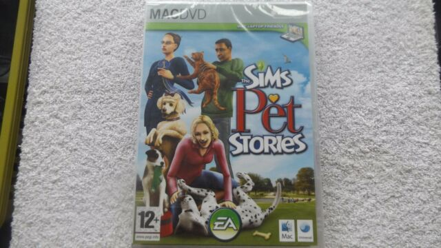 THE SIMS PET STORIES APPLE MAC/DVD NEW SEALED UNIVERSAL ( standalone sims game )