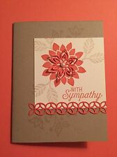 Stampin Up Flourishing Phrases Sympathy Card Kit