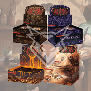 Flesh and Blood Crucible of War Booster Box Bundle Monarch Arcane Rising WTR Unl