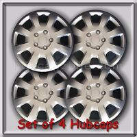 (4) 16 Silver Mitsubishi Galant Hubcaps 2006-2009 Replacement Wheel Covers