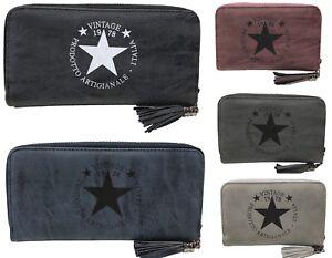 PORTAFOGLIO STAR Portafoglio Stella Donna Lusso Fashion Portafogli Portafoglio Nuovo