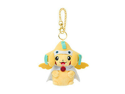 Plush Mascot Keychain Pokemon Center Tohoku Poncho Pikachu Series Victini ver